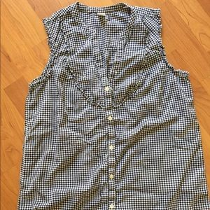 Old Navy Gingham top